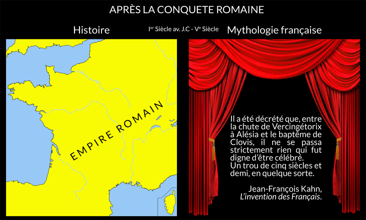 Après la conquête romaine
