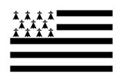 Drapeau Bretagne Breizh flag