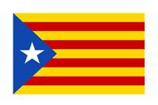 Drapeau Catalgone Catalunya flag
