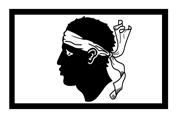 Drapeau Corse Corsica flag