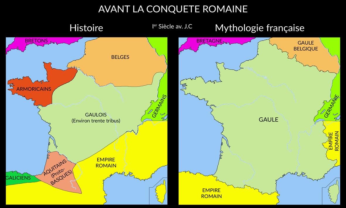 Avant la conquête romaine